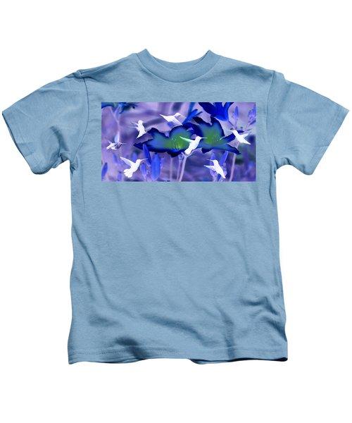 Spirit Of The Humming Bird Kids T-Shirt