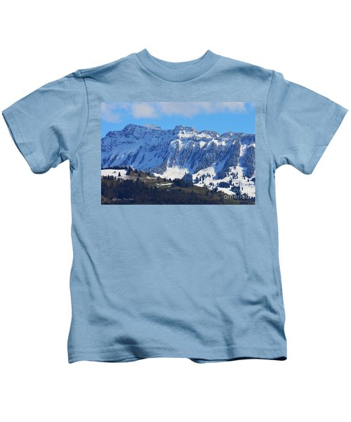Sunny And Cold Kids T-Shirt