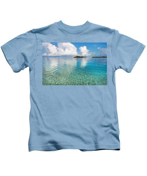 Sunny Invitation For  You. Maldives Kids T-Shirt