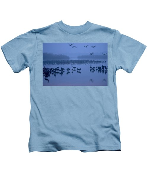 Sunrise Over The Hula Valley Israel 4 Kids T-Shirt