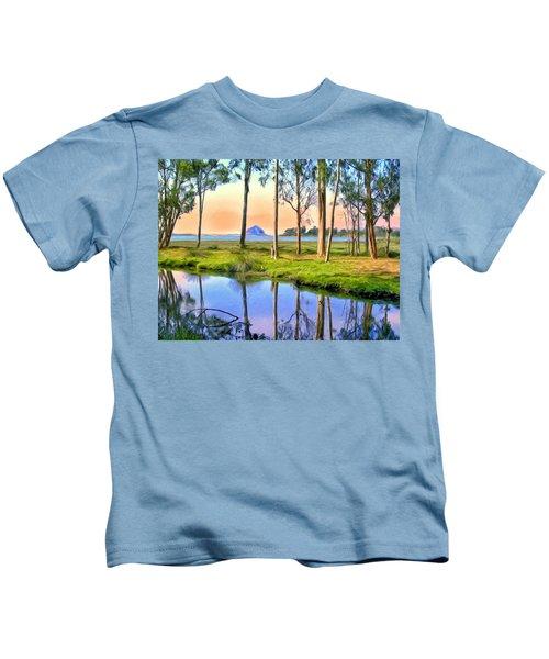 Sunset At Sweet Springs Kids T-Shirt