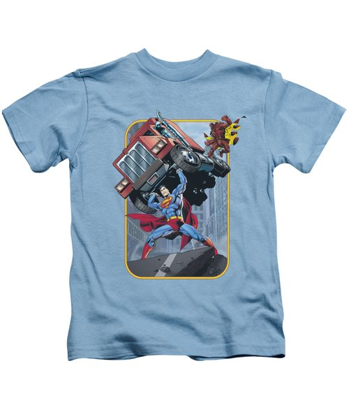 Superman - Pick Up My Truck Kids T-Shirt