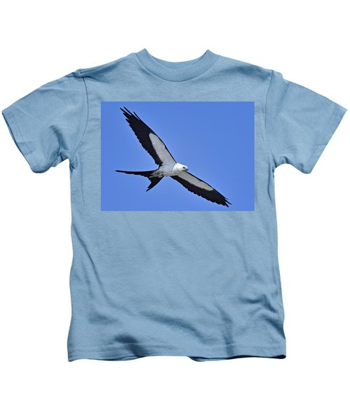 Swallow-tailed Kite Kids T-Shirt