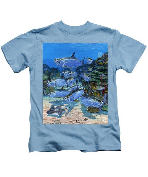 Tarpon Alley In0019 Kids T-Shirt