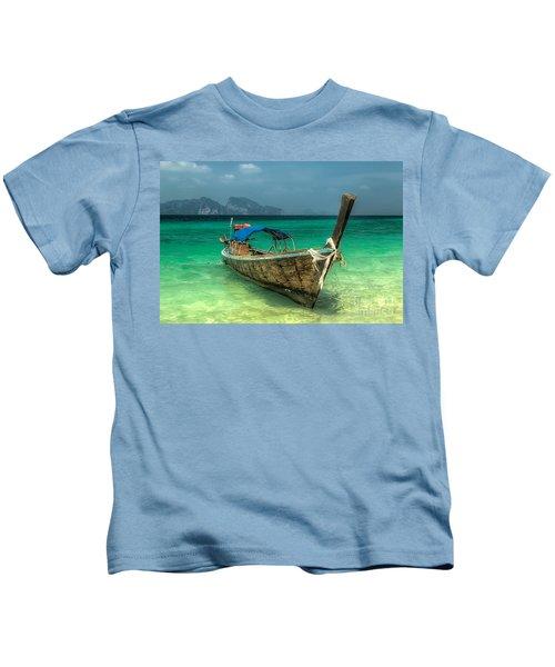 Thai Boat  Kids T-Shirt