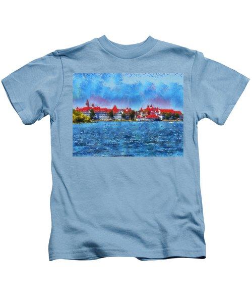 The Grand Floridian Resort Wdw 03 Photo Art Kids T-Shirt