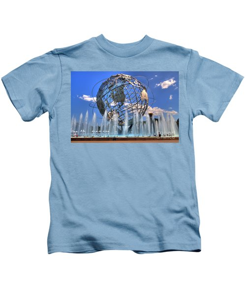 The Whole World In My Hands Kids T-Shirt