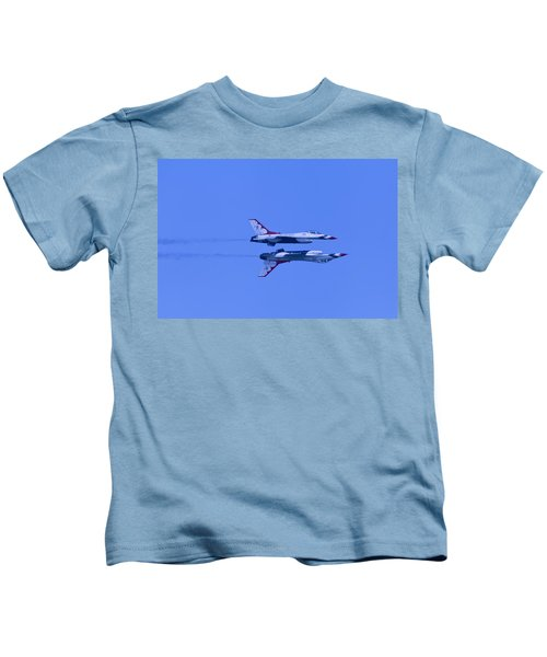 Thunderbirds Solos 6 Over 5 Inverted Kids T-Shirt