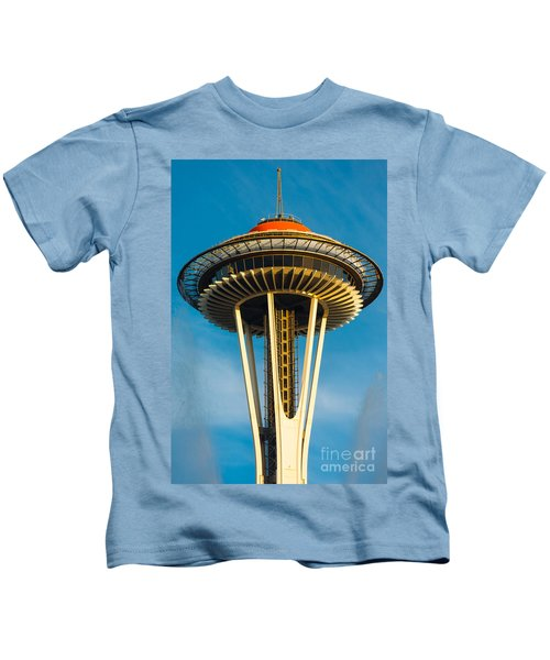 Top Of The Space Needle Kids T-Shirt