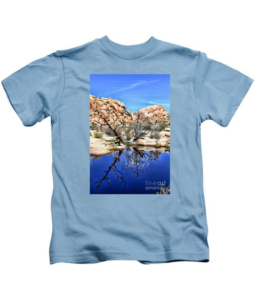 Trees In The Barker Dam Kids T-Shirt
