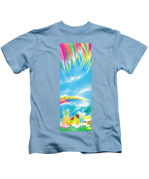 Tropical Fruits Kids T-Shirt