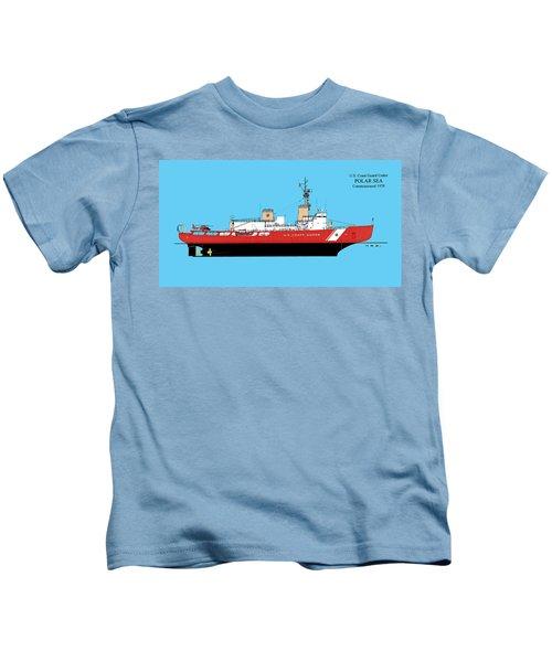 U. S. Coast Guard Cutter Polar Sea Kids T-Shirt