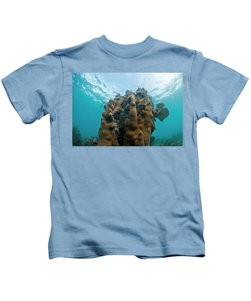 Underwater Life, Including Hard Corals Kids T-Shirt