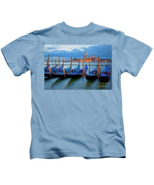 Venice View To San Giorgio Maggiore Kids T-Shirt