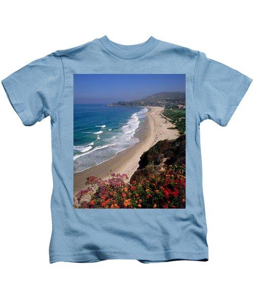 View Of Salt Creek Beach Kids T-Shirt
