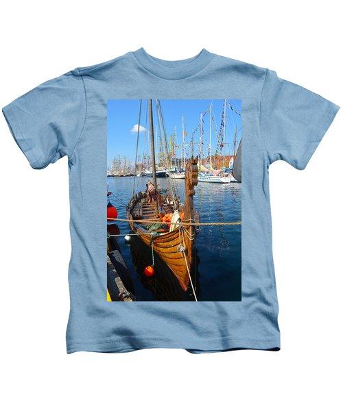 Viking Ship II Kids T-Shirt