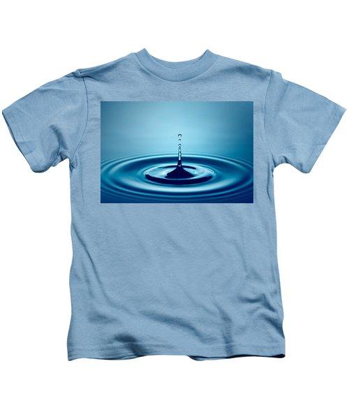 Water Drop Splash Kids T-Shirt