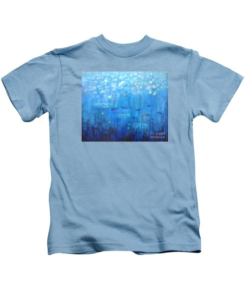 Water-joy-calm Kids T-Shirt