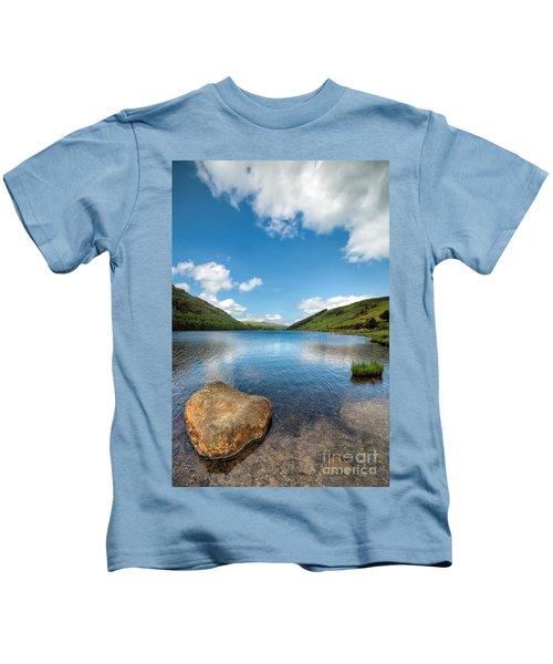 Welsh Lake Kids T-Shirt