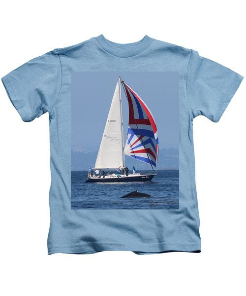 Whale Watching 1 Kids T-Shirt