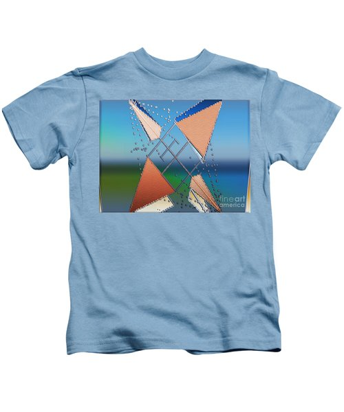 Wind Milling Kids T-Shirt
