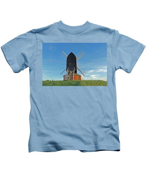 Windmill At Brill Kids T-Shirt