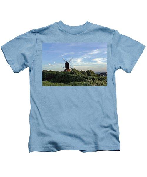 Windmill On Brill Common Kids T-Shirt