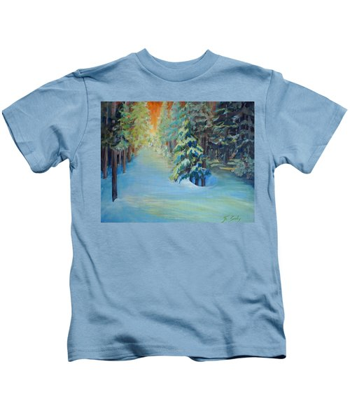 A Road Less Travelled Kids T-Shirt