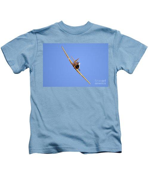 North American Aviation T-6 Texan  Kids T-Shirt