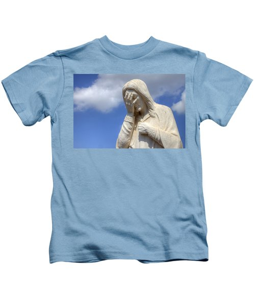And Jesus Wept IIi Kids T-Shirt