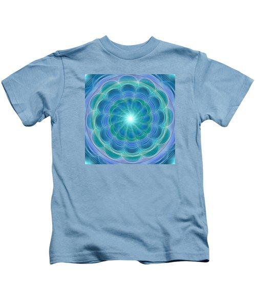 Bluefloraspin Kids T-Shirt