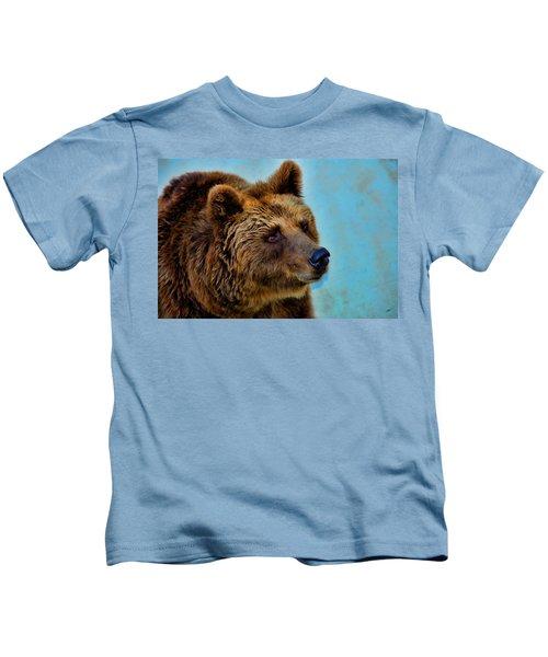 Brown Bear 203 Kids T-Shirt