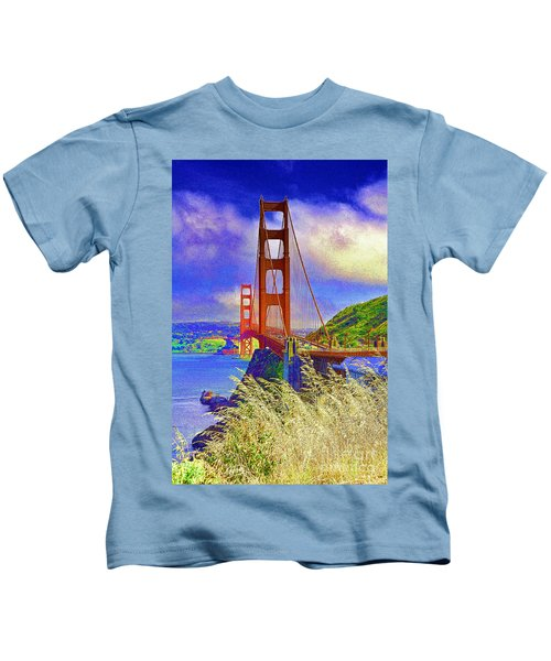 Golden Gate Bridge - 6 Kids T-Shirt