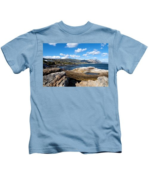 Hermanus Coastline Kids T-Shirt