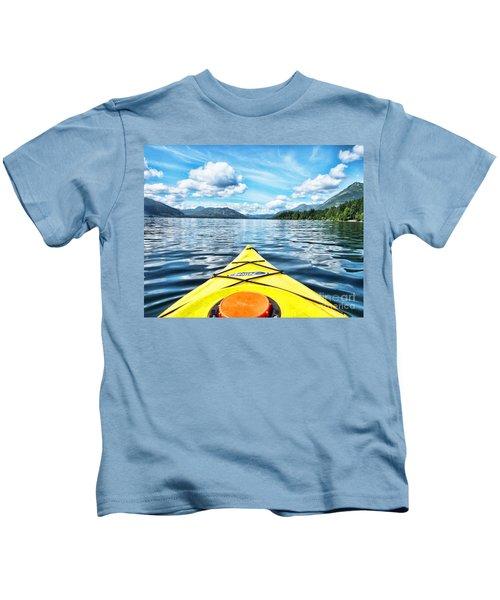 Kayaking In Bc Kids T-Shirt