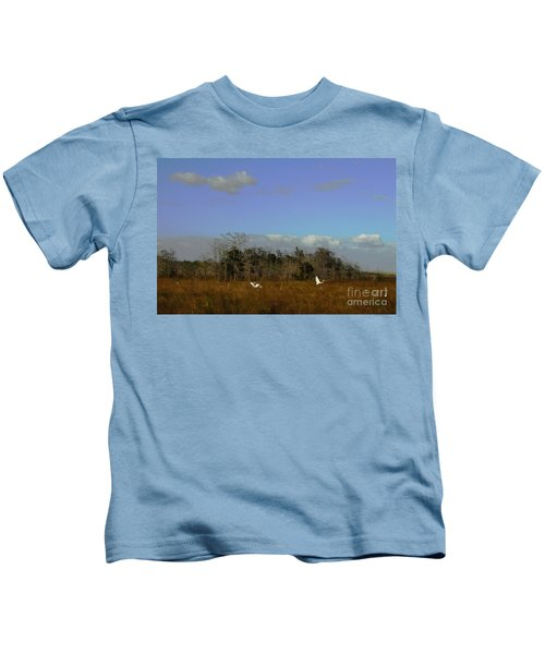 Lifes Field Of Dreams Kids T-Shirt