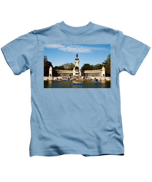 Monument To Alfonso Xii Kids T-Shirt