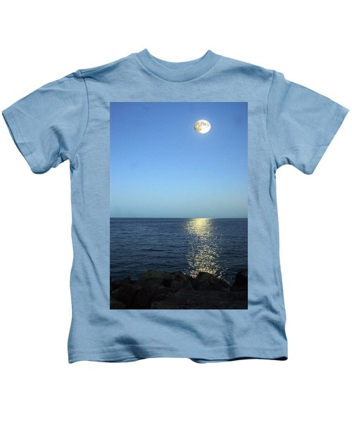 Moon And Water Kids T-Shirt