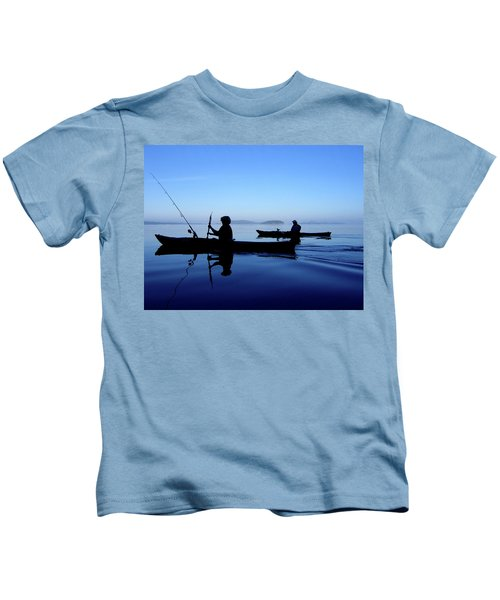 On The Deep Blue Sea Kids T-Shirt