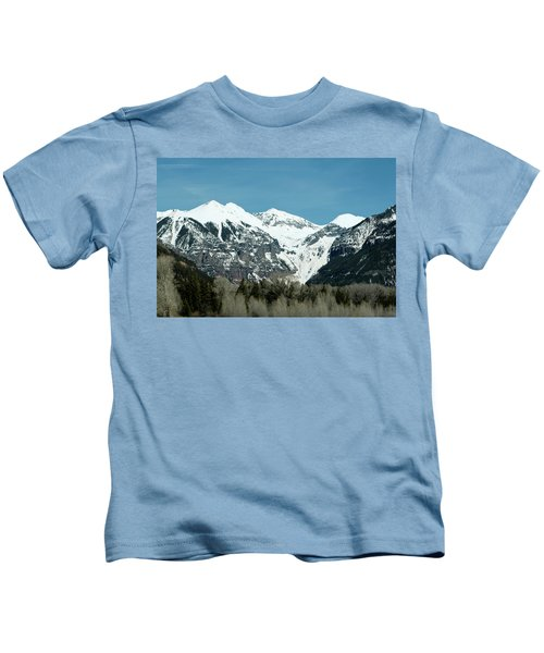 On The Road To Telluride Kids T-Shirt