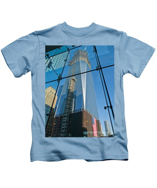One Wtc Rising Kids T-Shirt