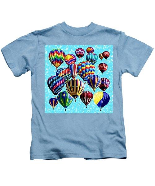Paint The Sky Kids T-Shirt