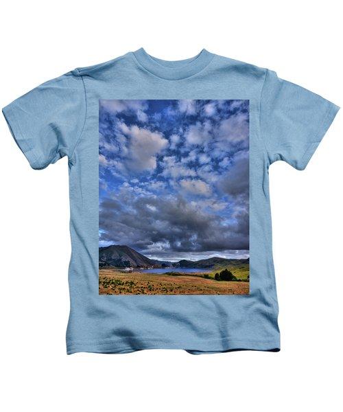 Twitchell Reservoir  Kids T-Shirt