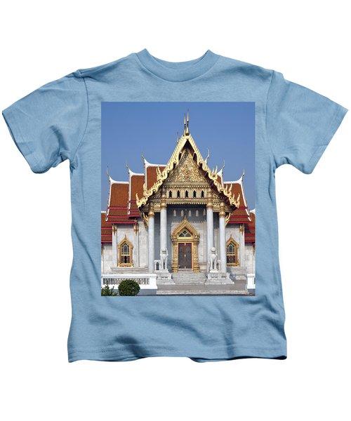 Wat Benchamabophit Ubosot Dthb180 Kids T-Shirt