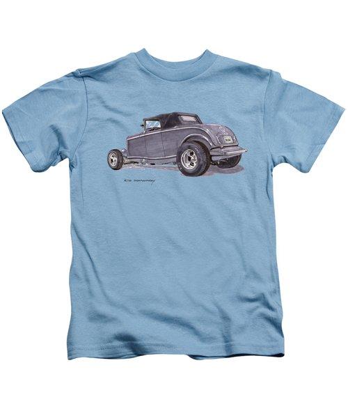 1932 Ford Hot Rod Kids T-Shirt