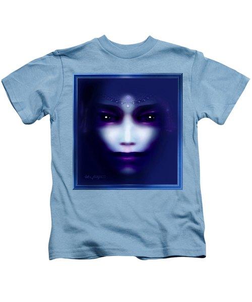 Angel  Blue Kids T-Shirt