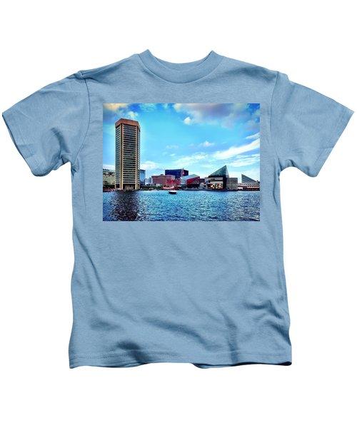 Baltimore's Inner Harbor Kids T-Shirt