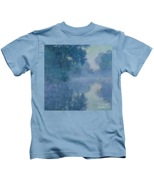 Branch Of The Seine Near Giverny Kids T-Shirt
