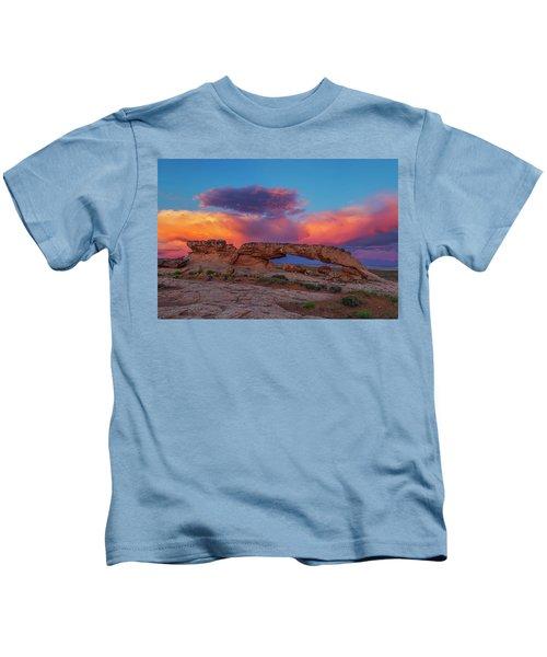 Burning Skies Kids T-Shirt