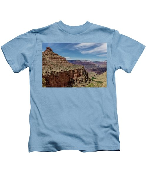 Cliffs In The Grand Canyon Kids T-Shirt